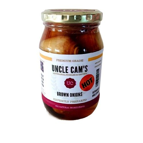 Flavour Hot Brown Pickled Onions