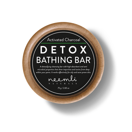 BBeautiful Activated Charcoal Detox Bathing Bar