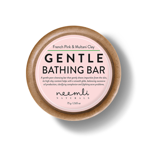 BBeautiful French Pink and Multani Clay Gentle Bathing Bar