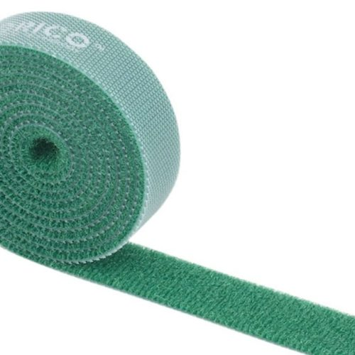 Orico 1m Hook and Loop Cable Tie - Green
