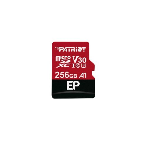 Patriot EP V30 A1 256GB Micro SDXC Card + Adapter