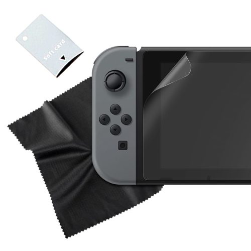 Sparkfox Tempered Glass Screen Protector and Cloth - Switch