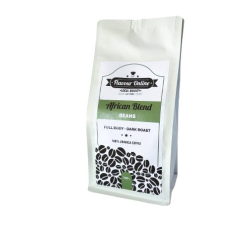African blend coffee