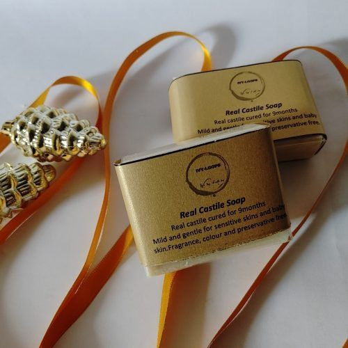Ivy Loops Real Castile Soap