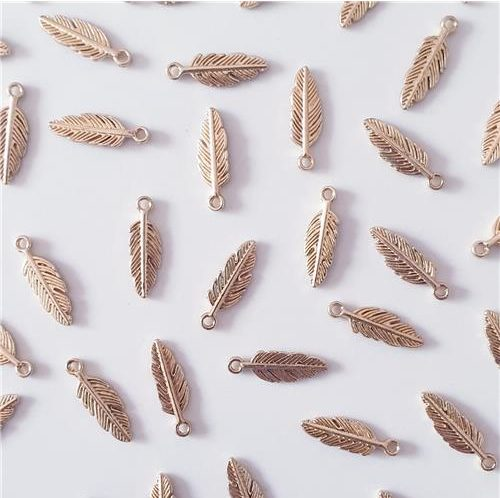 GOLD FEATHER FINDINGS