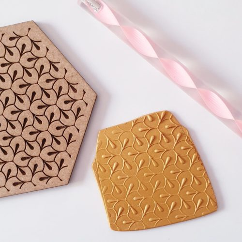 EMBOSSING TEXTURE PLATE - ABSTRACT PATTERN