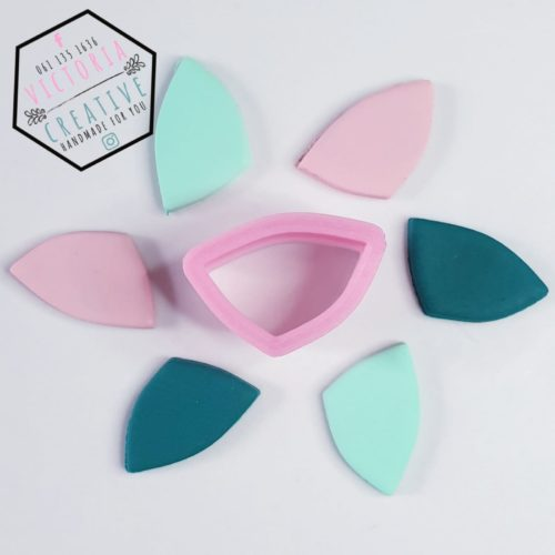 ABSTRACT PETAL POLYMER CLAY CUTTER