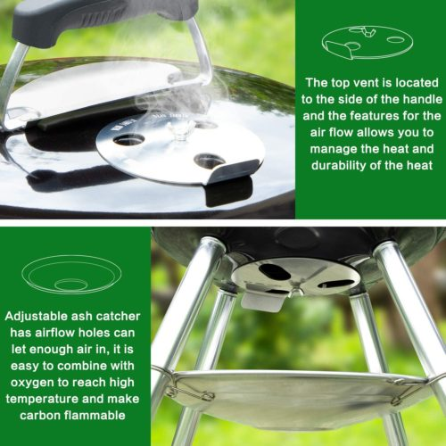 ecolifestyle.shop Multi-function Charcoal Braai Grill