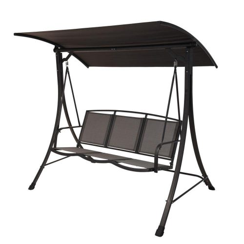 3-Seater Swing Bench - Ecolifestyle.shop